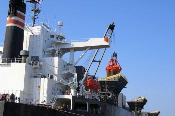三菱製紙向けチップ船