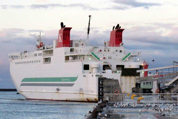 川崎近海汽船フェリー「シルバーエイト」